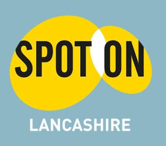 Logo: Spot on Lancashire.